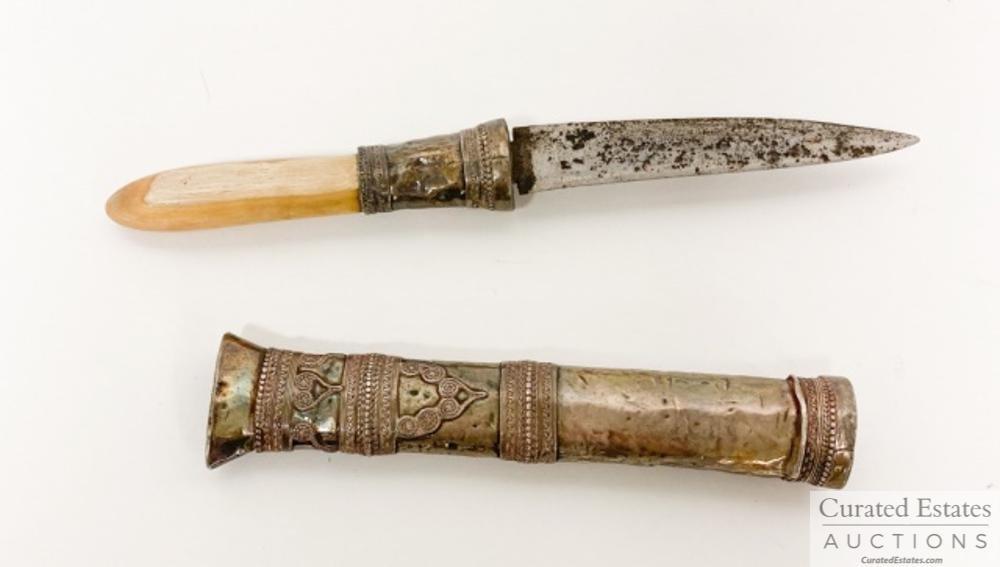 John Steinbeck's Silver Dha Dagger
