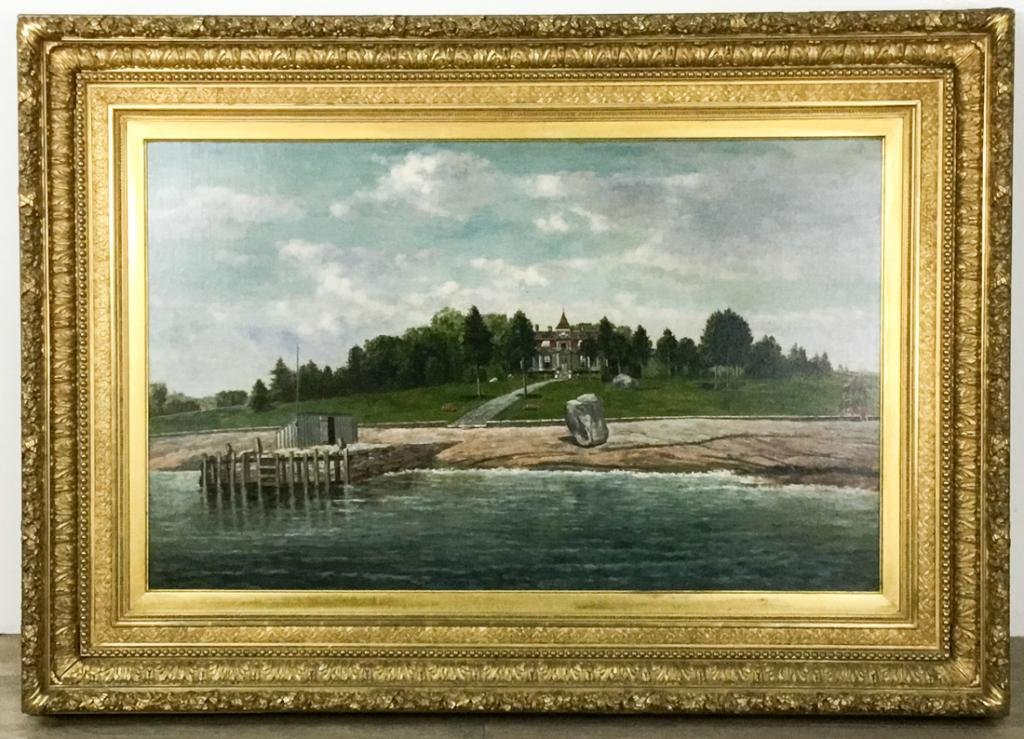 Signed F.H. Shapleigh Oil on Canvas