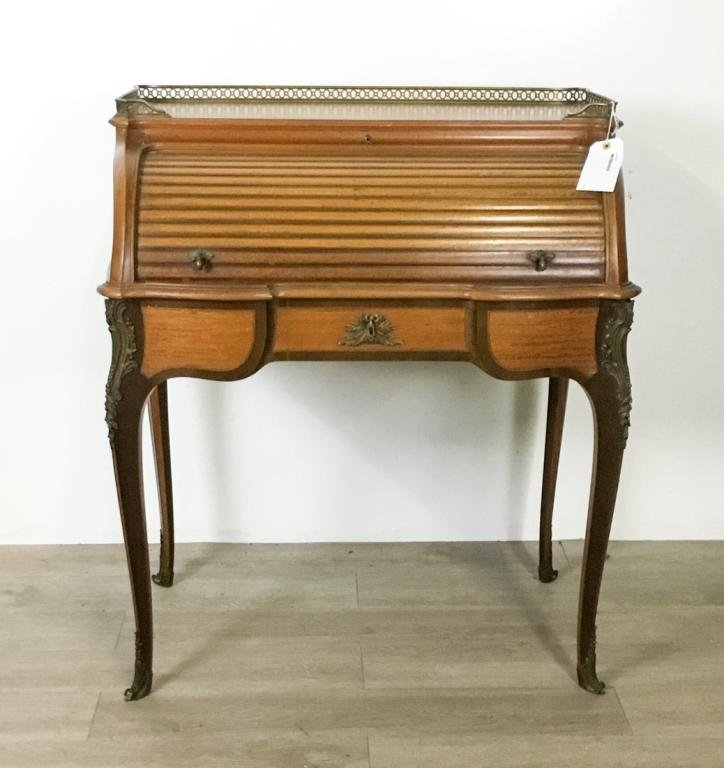 Signed Francois Linke Roll Top Desk