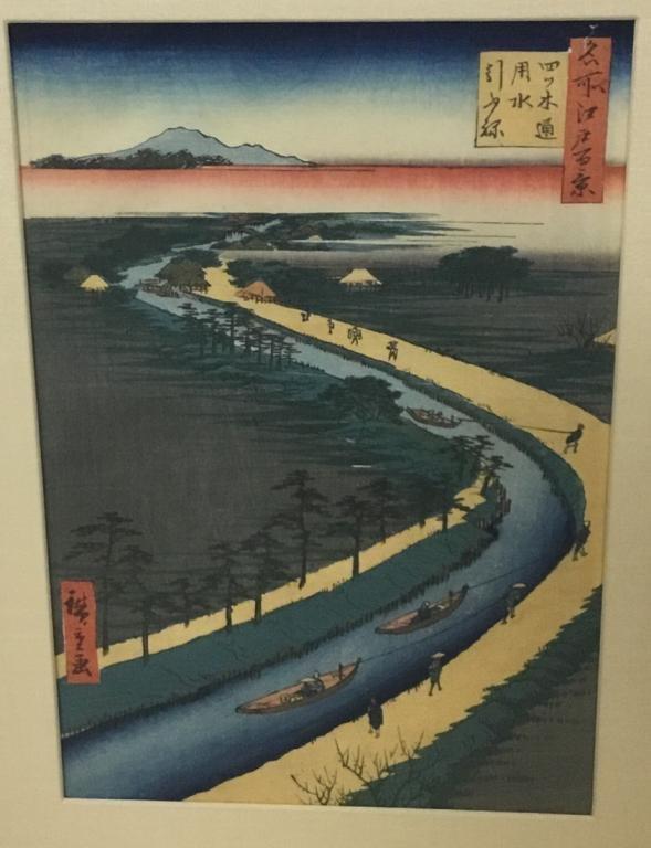 Hiroshige Woodblock Print 100 Famous Views of Edo