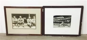 Babe Ruth & Joe DiMaggio Photos