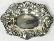Whiting Sterling Candy Dish