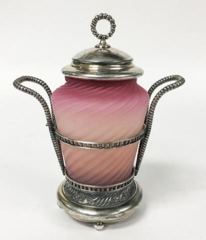 Pairpoint Victorian Silverplate Pickle Castor