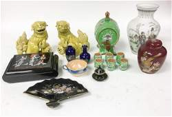 Grouping of Chinese & Japanese Decorative Items