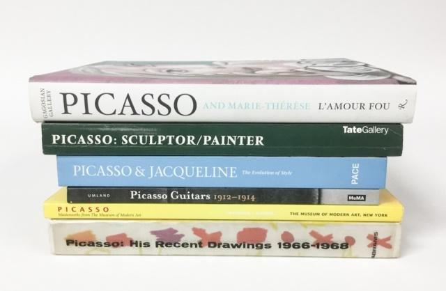 6 Picasso Books & Exhibition Catalogs