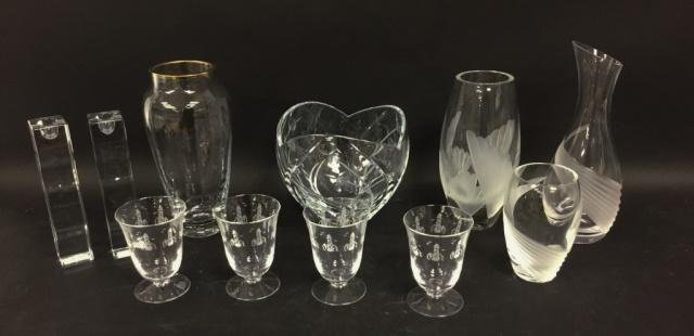 Grouping of Lenox Glass