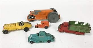 5 DieCast  Steel Toys