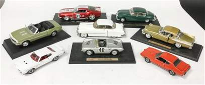 8 Model & Toy Cars