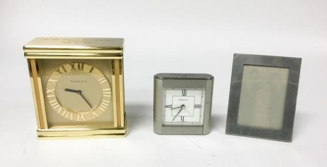 Tiffany & Cartier Table Top Items