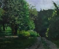 FC Herbst Oil on Canvas Gaylordsville Conn