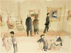 Helen Frank Watercolor Art Opening