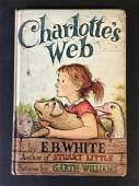 Charlotte's Web by E.B. White First Edition 1952