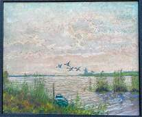 Painting  Oil on Canvas  Dutch Scene