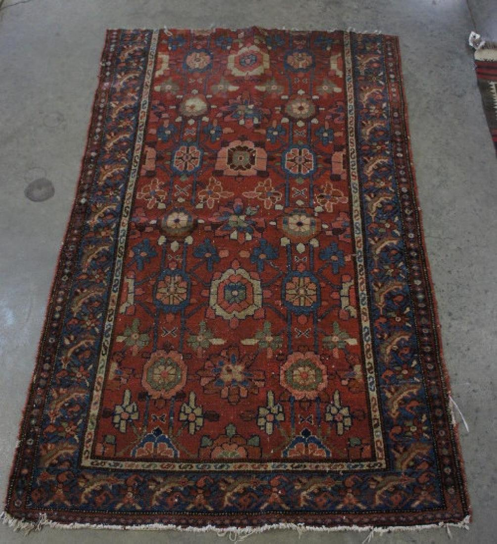 Antique Bijar Handmade Rug 3'2'' X 5'