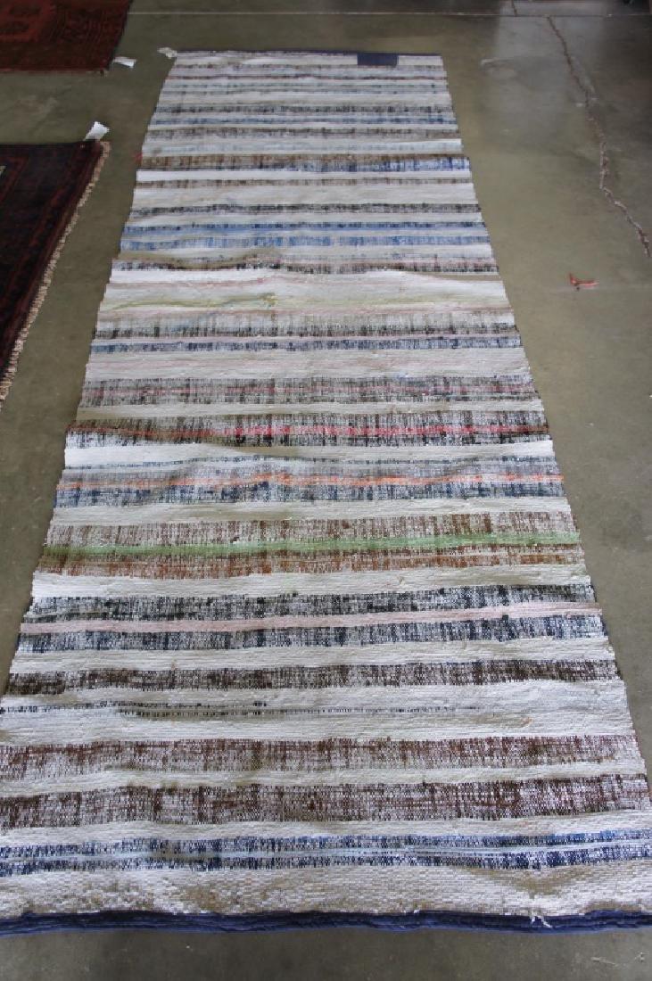 Vintage Kilim 3'3'' X 9'9'' Area Rug