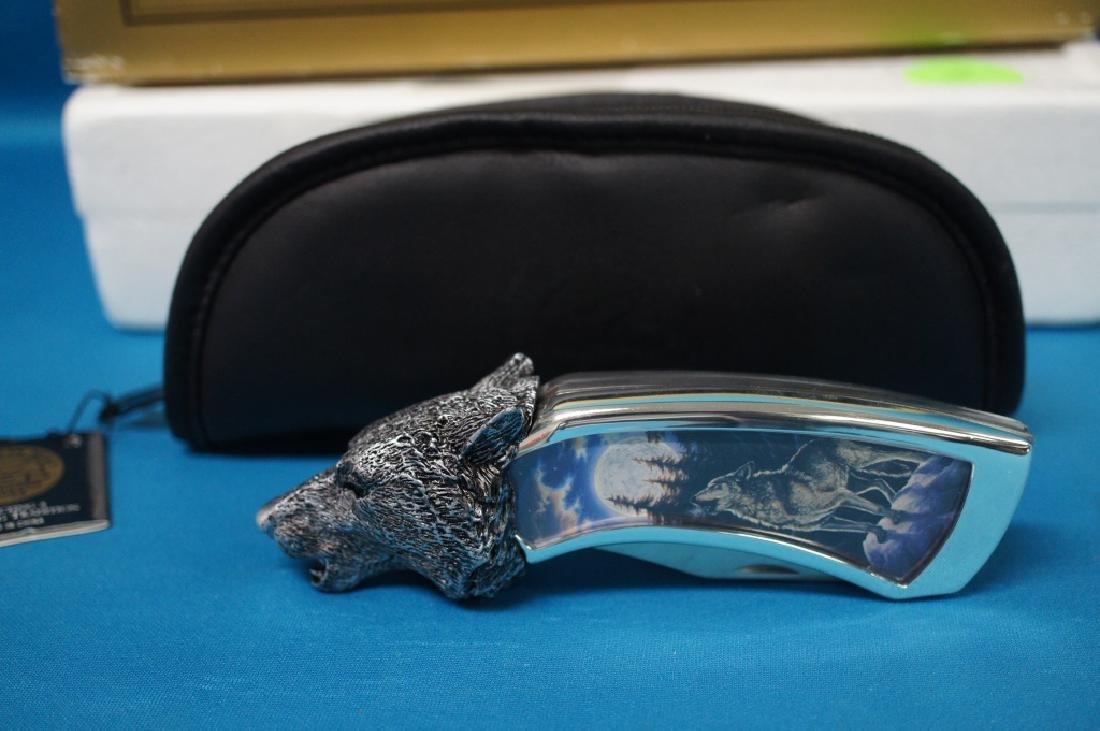Franklin Mint Timber Wolf Knife