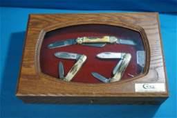 75th Anniversary Canoe Case 3 Knife Set