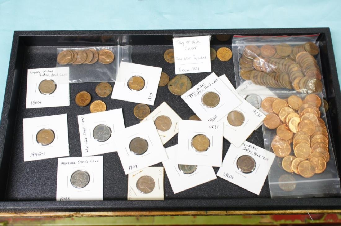 Tray Of Misc Cents