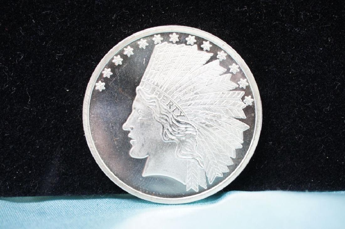Indian Head Silver Round