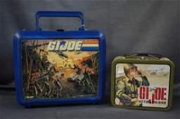 G I Joe Lunch Box And Mini Lunchbox