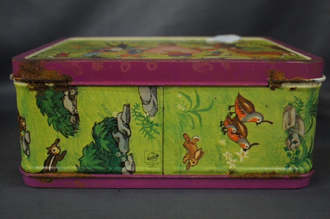 School Bus & snow white lunchbox - 11