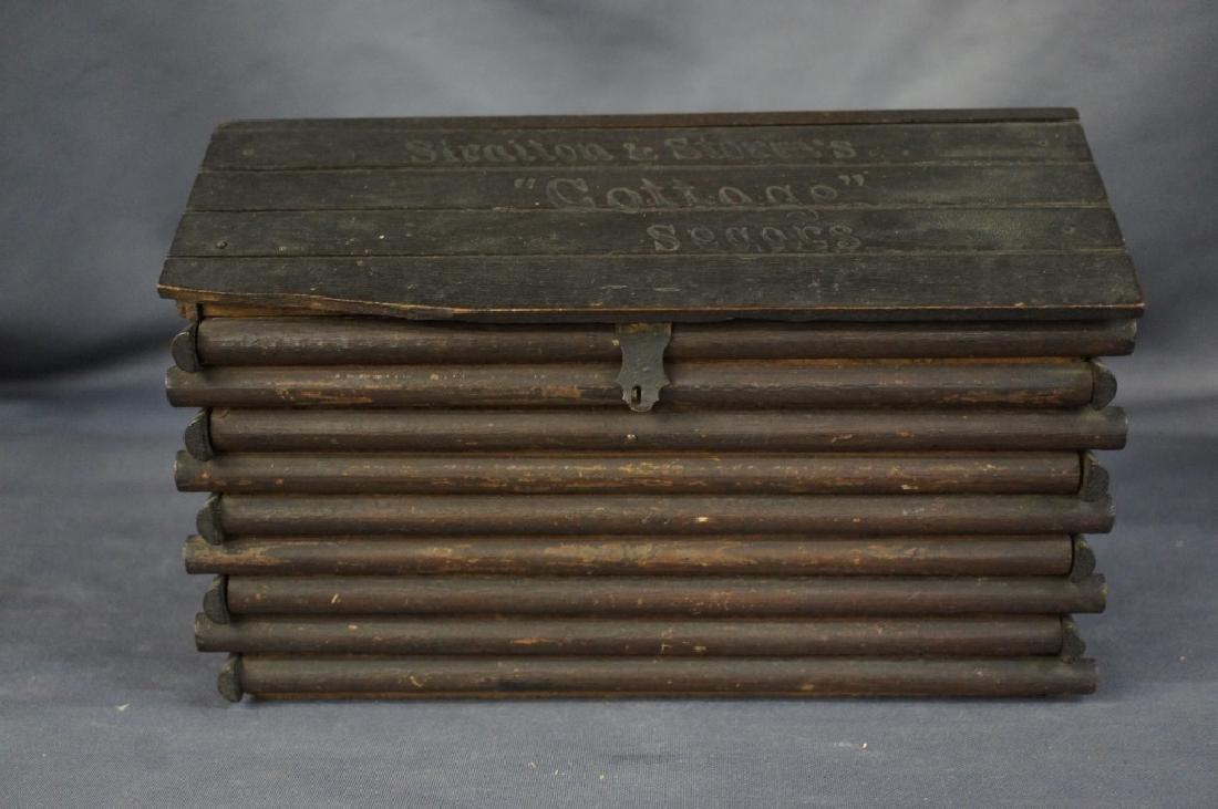 Antique Straiton & Storm cigar box
