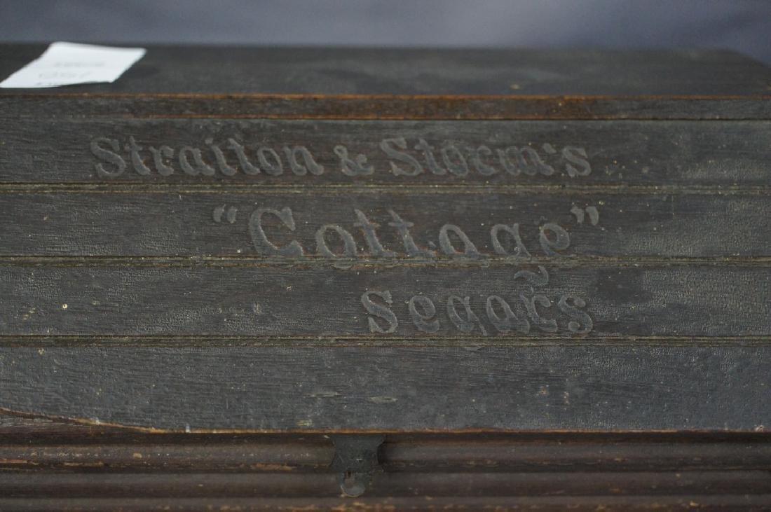 Antique Straiton & Storm cigar box - 2