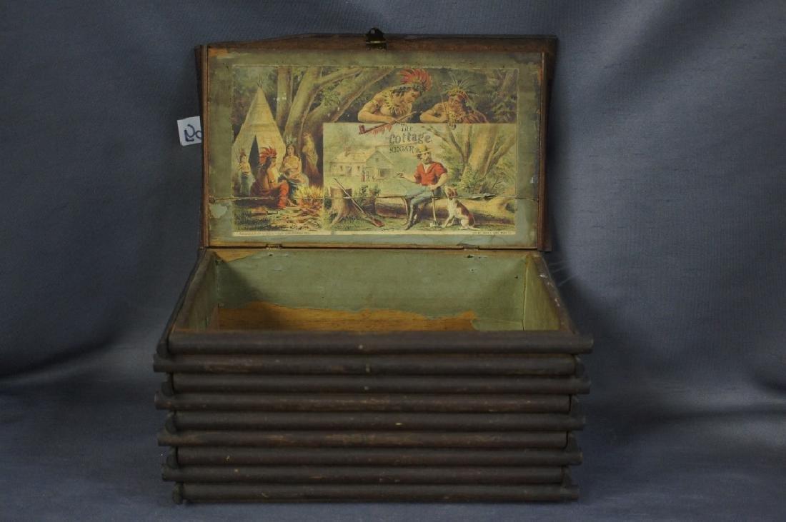 Antique Straiton & Storm cigar box - 3