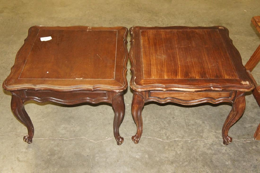 Pair Of Small End Tables