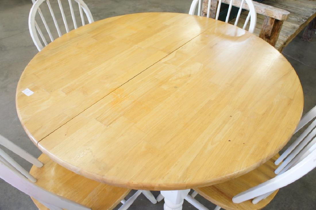 Dining Table With 4 Chairs - 2