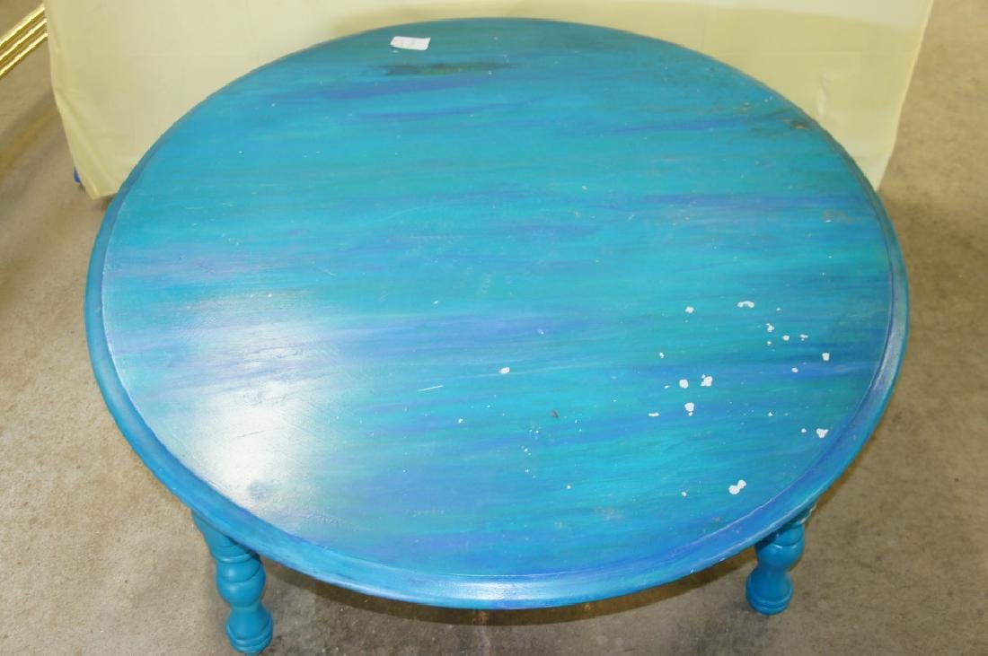Painted Coffee Table - 2