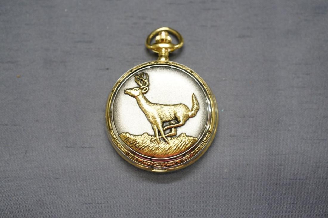 Vintage Deer Pocket Watch