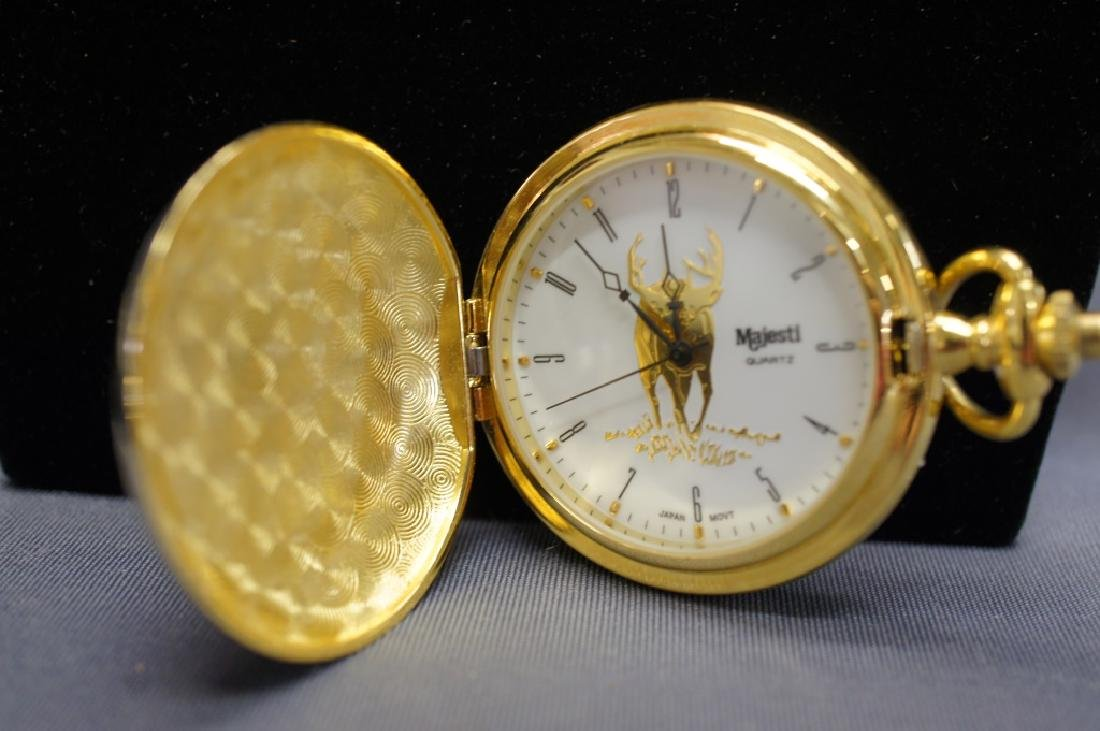 Vintage Deer Pocket Watch - 2