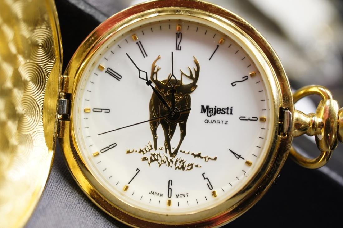 Vintage Deer Pocket Watch - 3