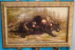 1908 Chansonetta Stanley Emmons Oil On Canvas