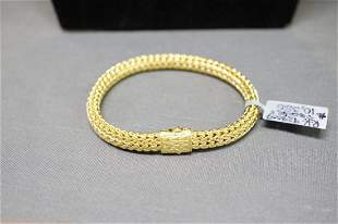 John hardy 18k gold classic chain bracelet