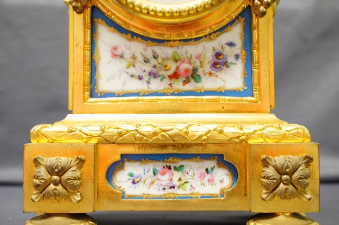 Antique French Ormolu Figural Clock - 5