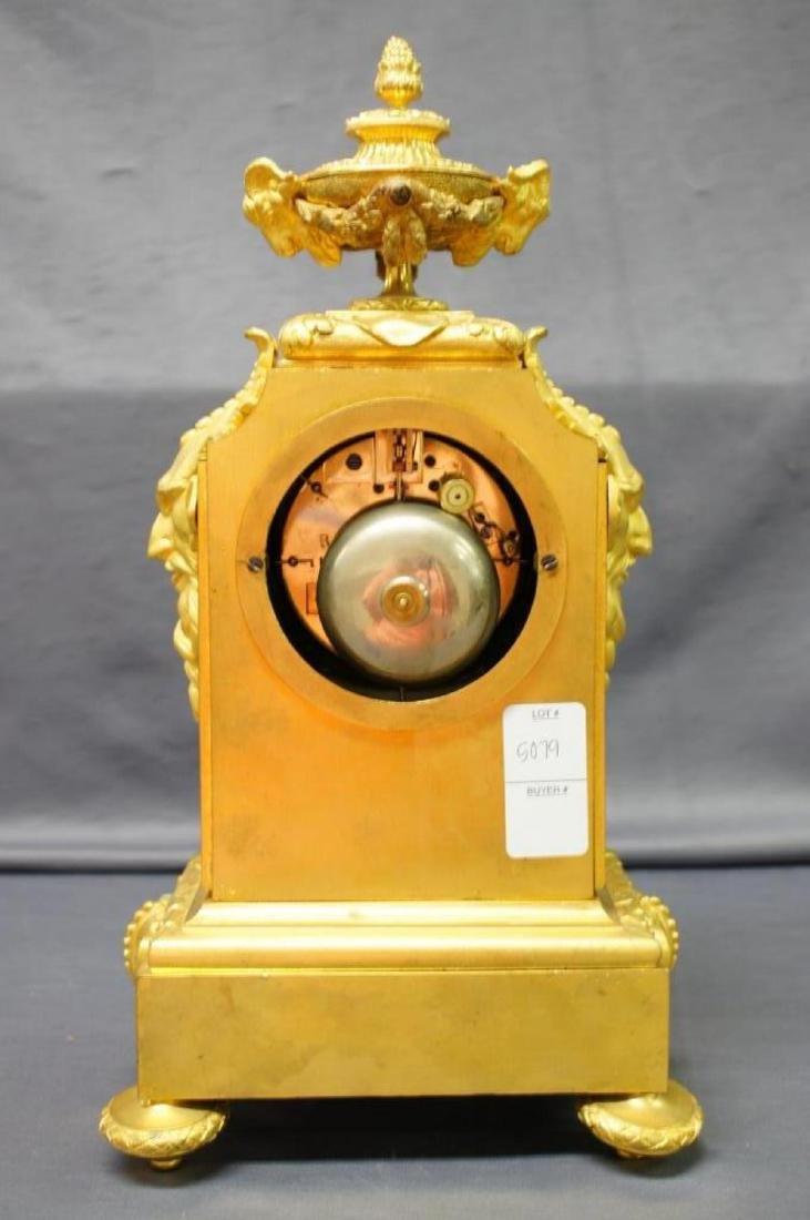 Antique French Ormolu Figural Clock - 6
