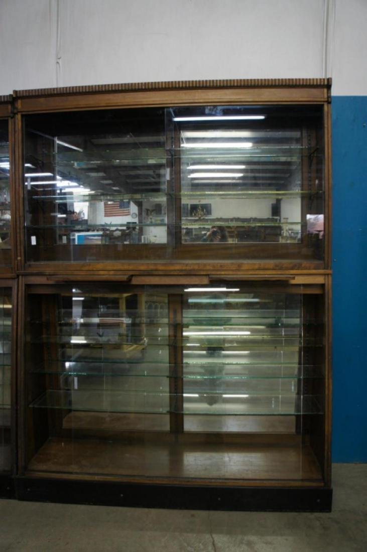 Antique Apothecary Cabinet With Glass Shelves