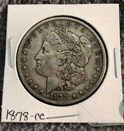 1978cc Morgan Silver Dollar