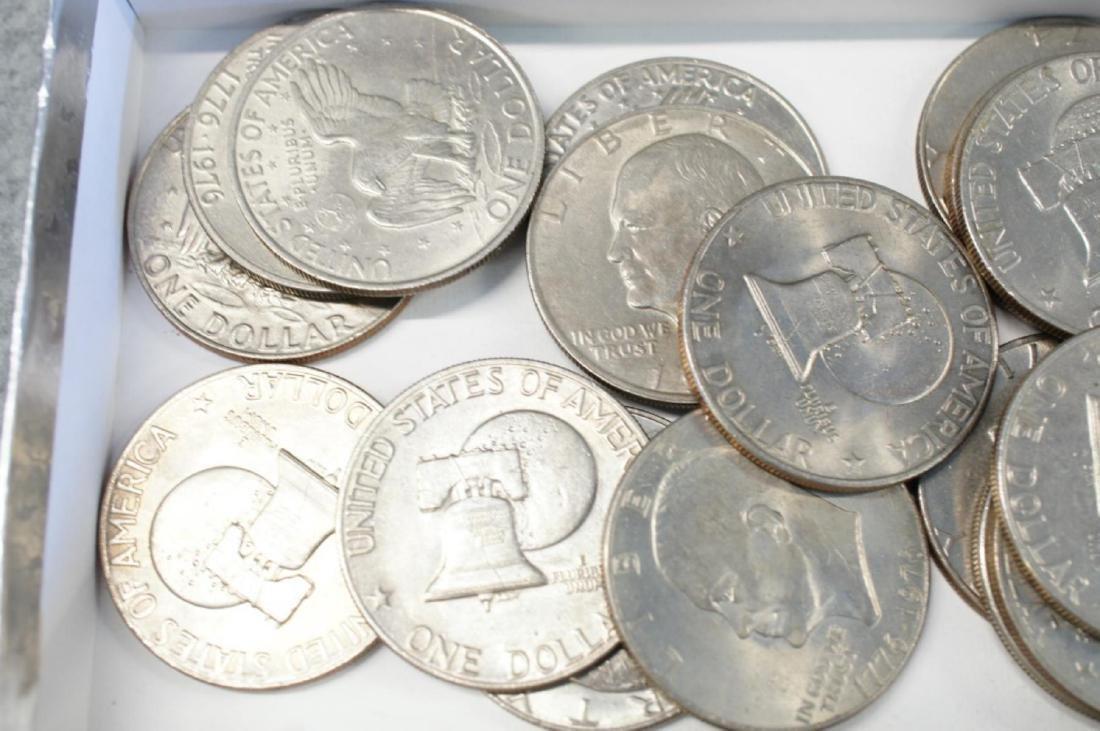 "17 Eisenhower "" Ike "" dollars - 2"