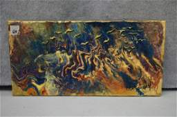 Acrylic On Canvas Abstract Scene by Jerrie Gast