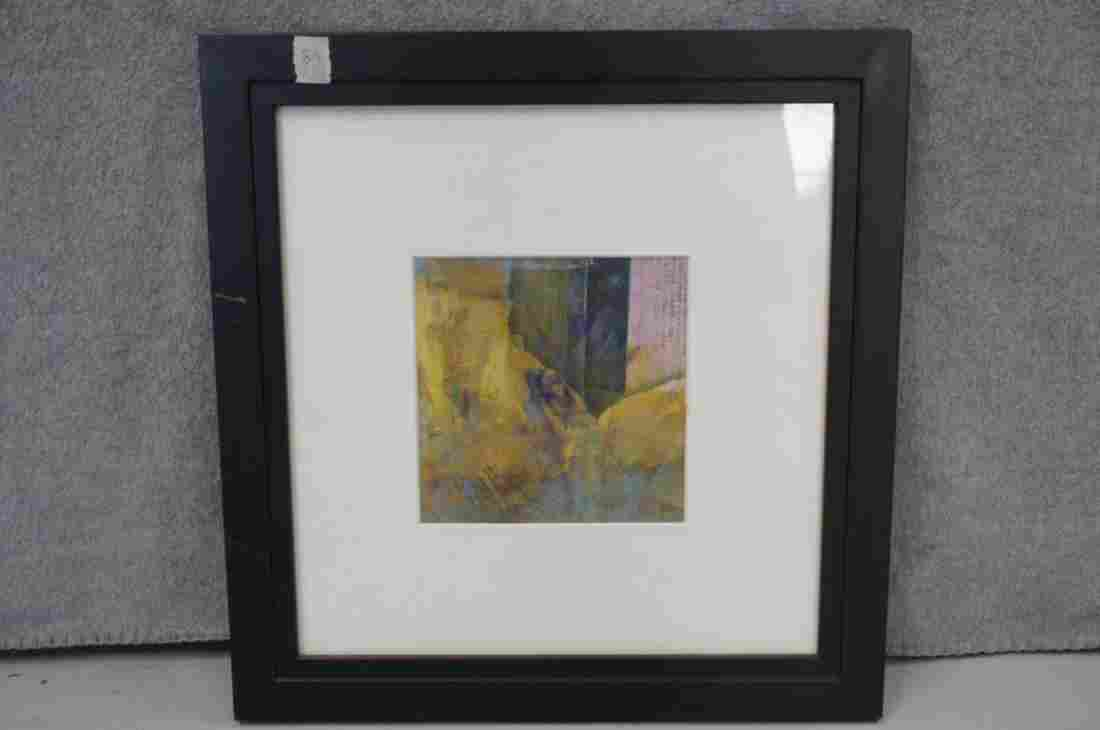 Framed Abstract by Jerrie Gast