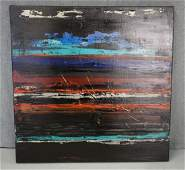 """Abstract on Canvas """"Tapestry III"""" by Jerrie Gast"""