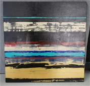 """Abstract on Canvas """"Tapestry II"""" by Jerrie Gast"""