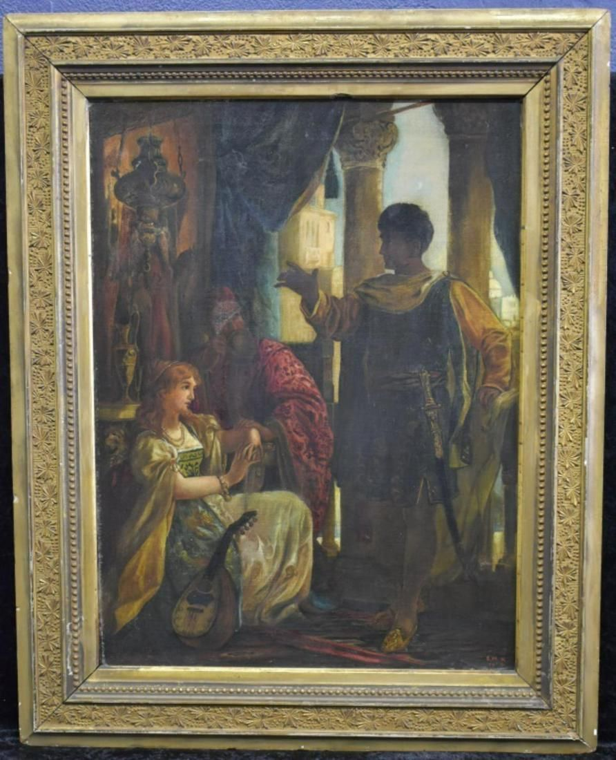 1894 E.M.K. Scene from Othello O/C