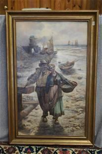Hollingsworth oil on canvas