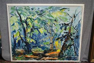 Anthony Sabatucci oil on canvas