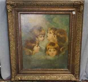Oil On Canvas Signed R Faith N Reynolds
