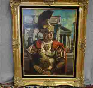 Oil On Board Signed Russell Tripp